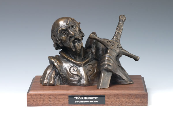 Don Quixote Bronze Sculpture